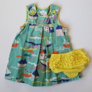 Mini Boden St Ives Pinafore 18-24 Months